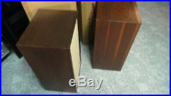 Acoustic Research AR-3 Speakers Consecutive Serial #