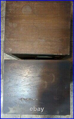 Acoustic Research AR-3a Speakers for Parts Refurbish Repair