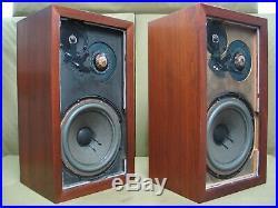 Acoustic Research AR-3a Vintage Loudspeakers (One Owner Pair) Re-foamed