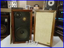 Acoustic Research AR-3a Vintage Pair Speakers Prof ReFoam Sound Great