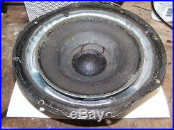 Acoustic Research AR-3a Woofer For re-foam