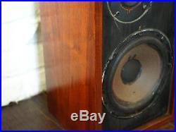 Acoustic Research AR-4X Speakers Pair Vintage Tested & Working