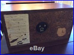 Acoustic Research AR-4X Vintage Bookshelf Speakers