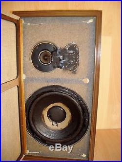 Acoustic Research AR-4ax Vintage Speakers Teak Cabinet Excellent condition