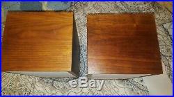 Acoustic Research AR-4x Speaker pair WOW Serial #'s 855 & 871