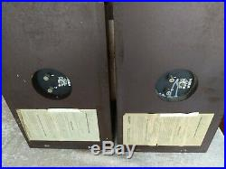 Acoustic Research AR-4xa Speakers Outstanding Condition