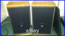 Acoustic Research AR 8BX 8 Inch Woofers Vintage Speakers