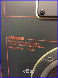 Acoustic Research AR 9 LS vintage audiophile loudspeakers, excellent condition