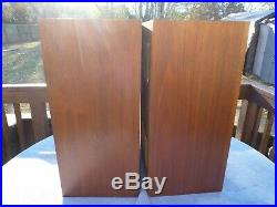 Acoustic Research AR AR3A Speakers Henry Kloss Gorgeous PICK UP ONLY DANVERS MA