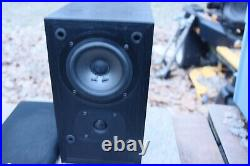 Acoustic Research AR Classic Model 5 Bookshelf Speakers, Very Clean
