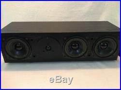 Acoustic Research AR MC. 1 Holographic Imaging Rare MC1 + Bookshelf Speaker Set