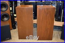 Acoustic Research AR Model 3 Speakers For Parts or Repair