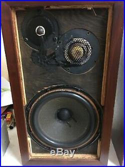 Acoustic Research Ar-3a Loudspeakers Pair
