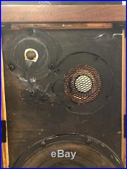 Acoustic Research Ar-3a Vintage Speakers