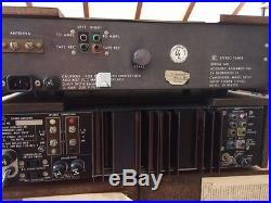 Acoustic Research Ar Amplifier, Ar Fm Tuner, Vintage Stereo System Wood Cases