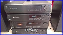 Acoustic Research Hifi AR A 07 RD CD T 06 Amplifier Cassette Tuner Speakers 142