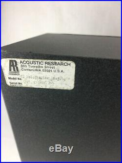 Acoustic Research M2 Holographic Imaging Speakers Set of 2