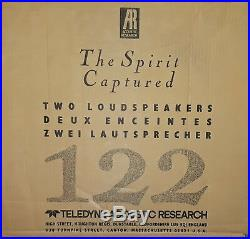 Acoustic Research Spirit Series 122 Home Audio Speakers (BRAND NEW!)