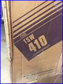 Acoustic Research TSW-410 Vintage Audiophile Loudspeakers BRAND NEW IN BOX! RARE