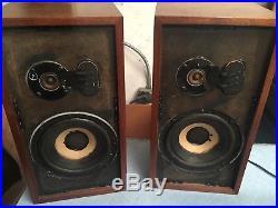 Acoustic research speakers AR-4xa