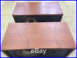 Ar4x Acoustic Research Speakers, Beautiful Matched Pair