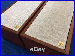 Ar4x Acoustic Research Speakers Early Plywood Model Working As It Should