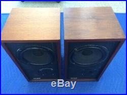 Ar4x Acoustic Research Speakers Very Nice Original Restored Condition