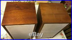Ar4x Acoustic Research Vintage Speakers Near Mint Condition