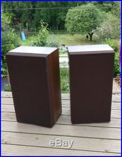 Aruko Acoustic Research Teledyne 38LS Hifi speakers vintage rare