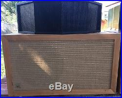 Audiophile Pair Acoustic Research AR-1W Woofer & Janszen 130 Electrostat Tweeter