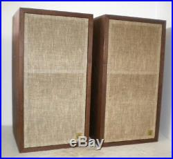 Classic AR-4X Acoustic Research Bookshelf Stereo Speakers Drivers & Cabs Great