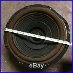 Local Pickup Only Vintage 1969 Acoustic Research AR-3a Audio Speaker Woofer