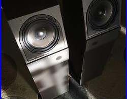 New Old Stock-Acoustic Research M4 Holographic Imaging Speakers (Pair)