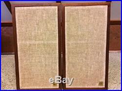 ORIGINAL AR4X Vintage Speakers Fabulous Condition