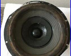 Original Acoustic Research AR 3, AR 3A original Alnico cloth surround 12 woofer