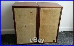 Original First Model Vintage Acoustic Research AR-4 Book Shelf Speakers
