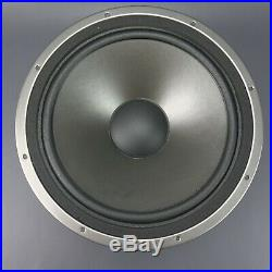 Pair Genuine AR 12 Woofers 4 ohm Acoustic Research from SRT 330 Studio Speakers
