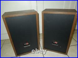 Pair / Set of Acoustic Research AR 38 BXi DJ Speakers (Needs Refoaming)