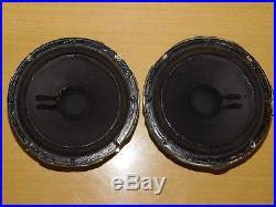Pair Vintage Acoustic Research AR-4X 8 Woofers Audio Stereo Speaker Loudspeaker