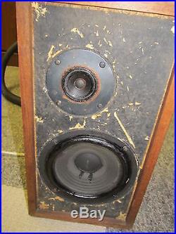 Pair Vintage Acoustic Research AR-4x Speakers