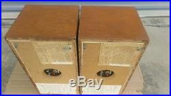 Pair of Vintage Acoustic Research AR4x Speakers ORIGINAL UNTOUCHED