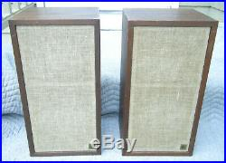 Pr Acoustic Research 4X Speakers, Excellent Cabinets, Speakers O. K, Needs I Pot