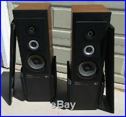 RARE AR-90 Teledyne Acoustic Research Heavy/Very High Quality Stereo Speakers