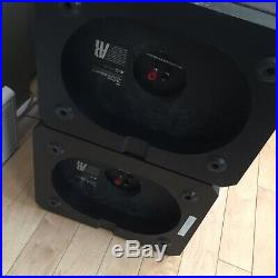 Rare Acoustic Research AR93Q Speaker Enclosure + Cloth Cover + Crossover Only