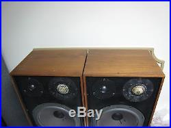Rare Vintage Acoustic Research AR 11 speakers parts/repair