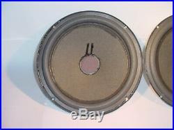 Rebuilt AR-2ax Alnico AR speaker 10 WOOFER DRIVER PAIR AR2-AX (free shipping)