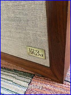 Restored! Acoustic Research AR AR3a Speakers, Rebuilt Tweeters, New Caps, %