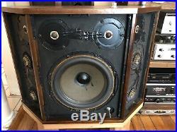 Restored! Acoustic Research AR LST Speakers, Rebuilt Tweeters, New Caps, %
