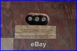 SINGLE Acoustic Research AR1 Speaker Altec 755a Serial # 7863 SINGLE