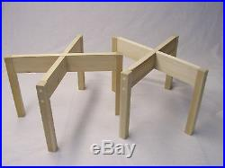 STANDS FOR ACOUSTIC RESEARCH SPEAKERS AR-3a, AR-3, AR-2ax, UNFINISHED